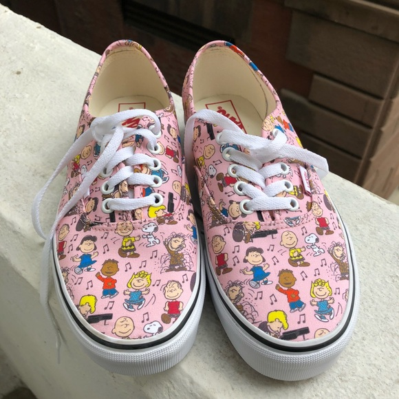 7866d359a9e NEW! Vans Peanuts Collection Dance Party Sneakers NWT
